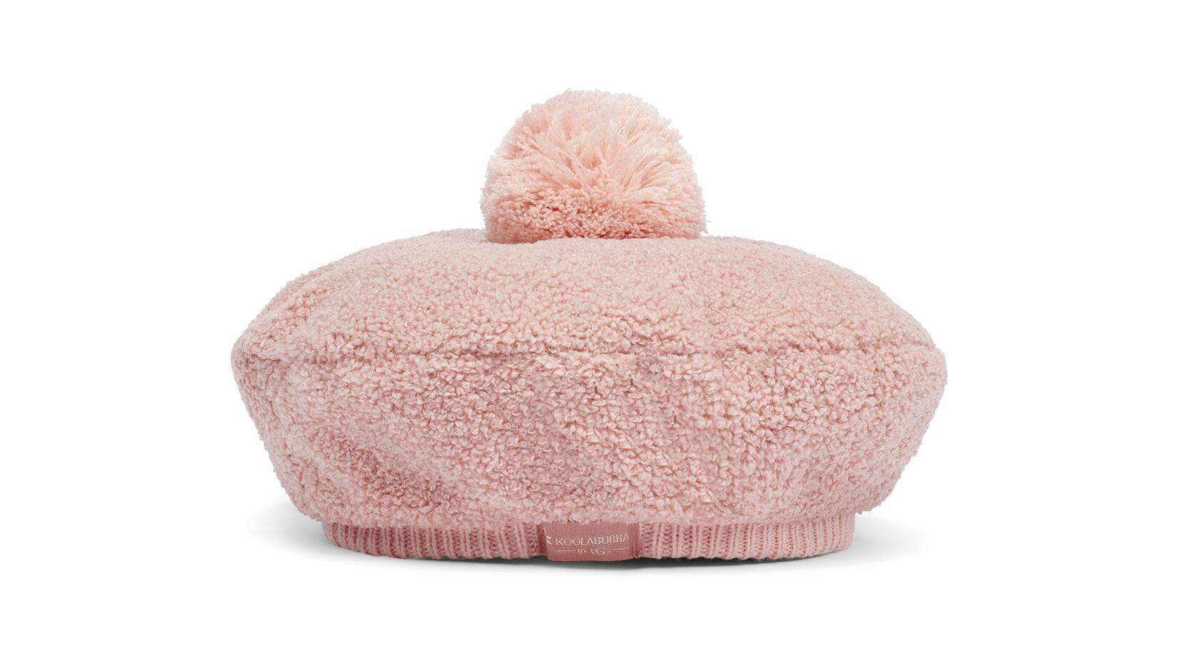 Sherpa Beret with Pom